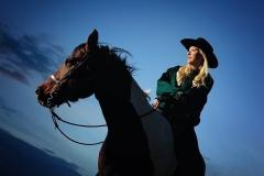 senior girl on her horse