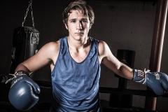 high scool senior boxer