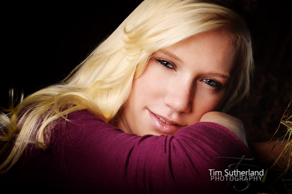 Professional Erie H.S. Senior portraits