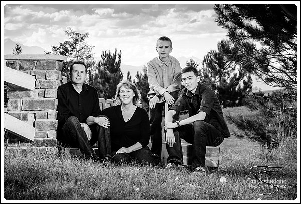 Black and white outdoor family portraits black and white family portraits