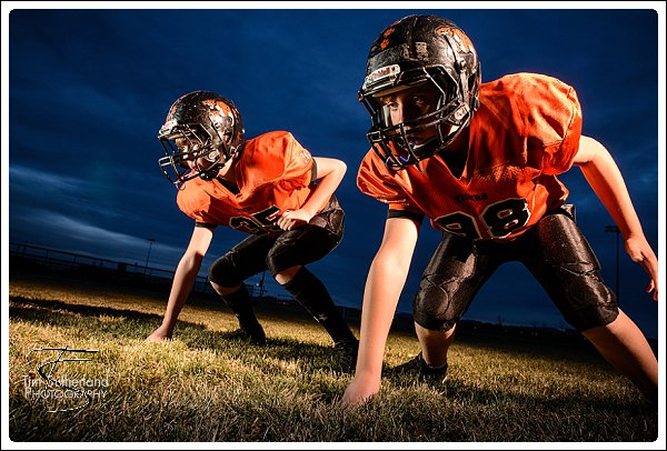 Football Portraits In Erie Colorado