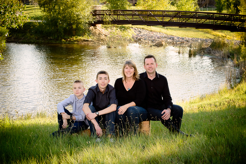 Outdoor Family Portraits - Tim Sutherland Photography