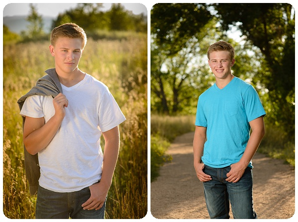 Outdoor senior portraits - Erie CO