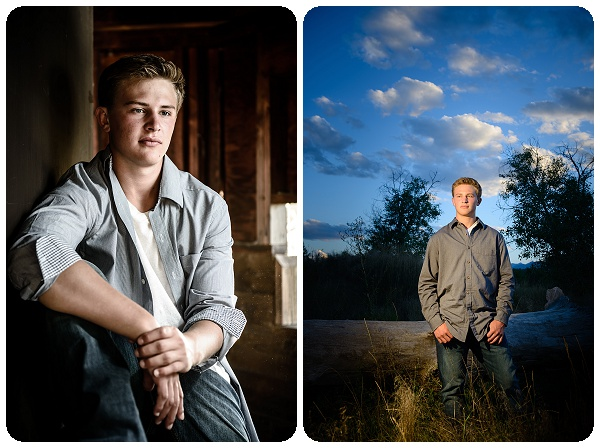 Outdoor senior portraits - Erie CO