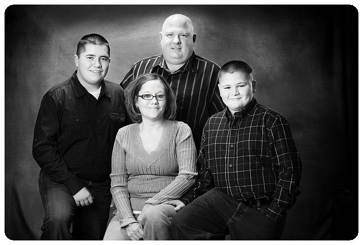 Black and White family portraits-Tim Sutherland-Erie Colorado