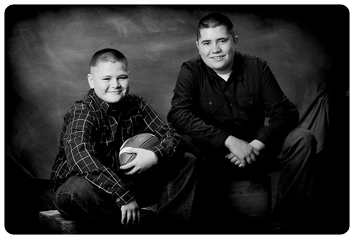 Black and white portrait of brothers-Black and White family portraits-Tim Sutherland-Erie Colorado