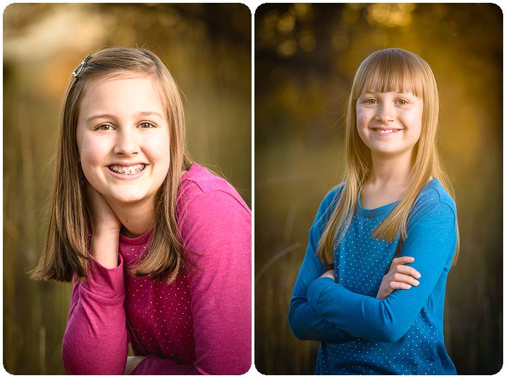 sister portraits