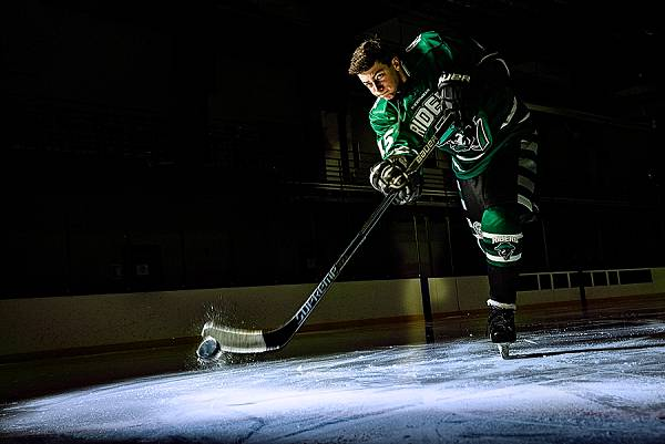 hockey wrist shot
