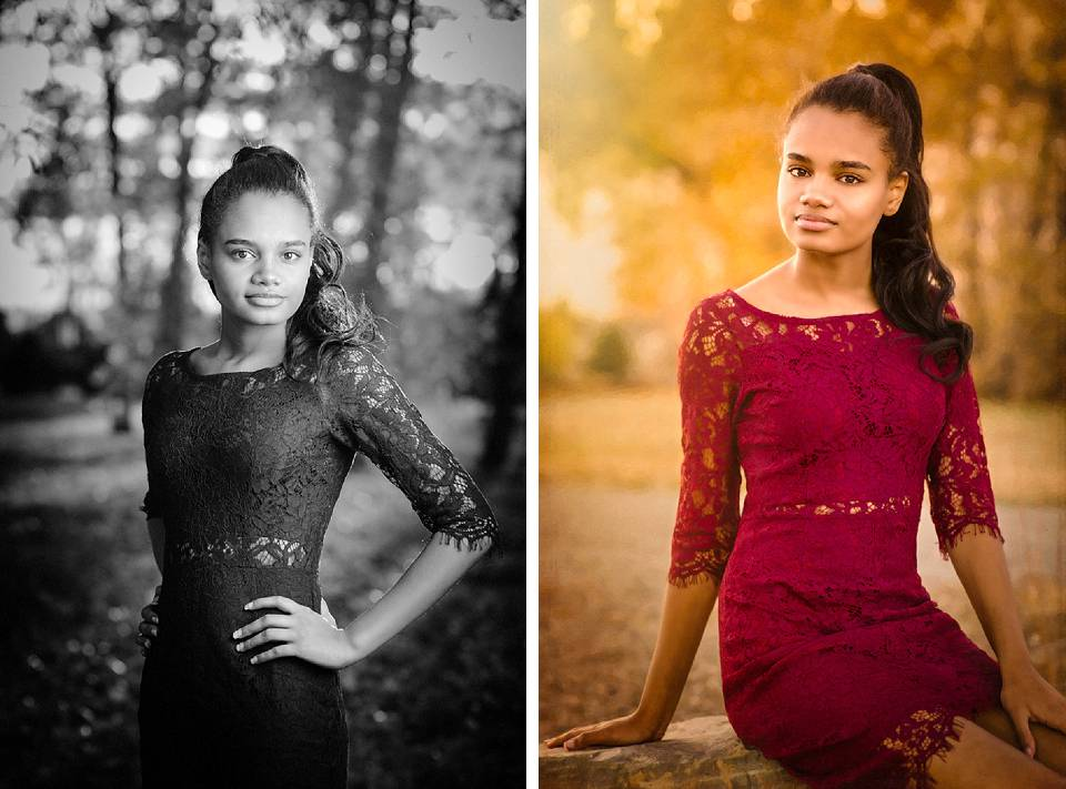 elihant high school senior portrait
